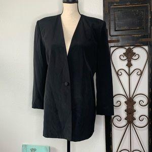 Vintage Travis Ayers Silk blazer Sz 8